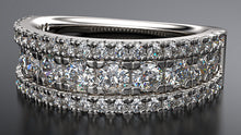 platinum diamond cocktail ring - Australian Diamond Network