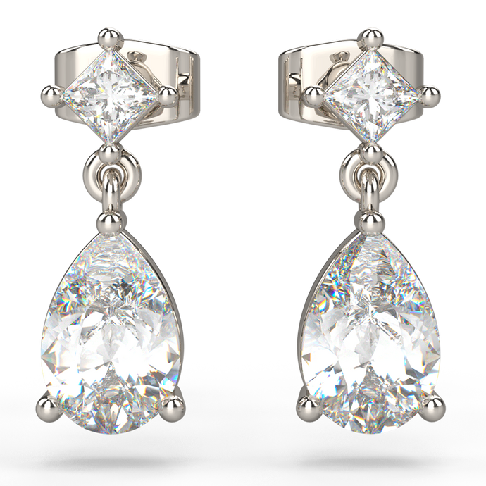 tears of happiness diamond earrings - Australian Diamond Network