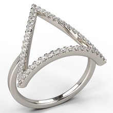 triad diamond dress ring - Australian Diamond Network