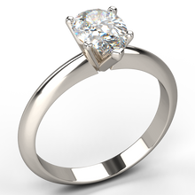 elegant v claw pear shape solitaire diamond engagement ring - Australian Diamond Network
