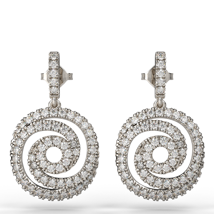 Origo Diamond Earrings - Australian Diamond Network