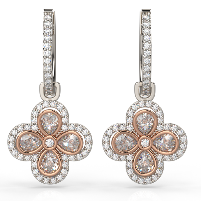 Quatre Diamond Earrings - Australian Diamond Network