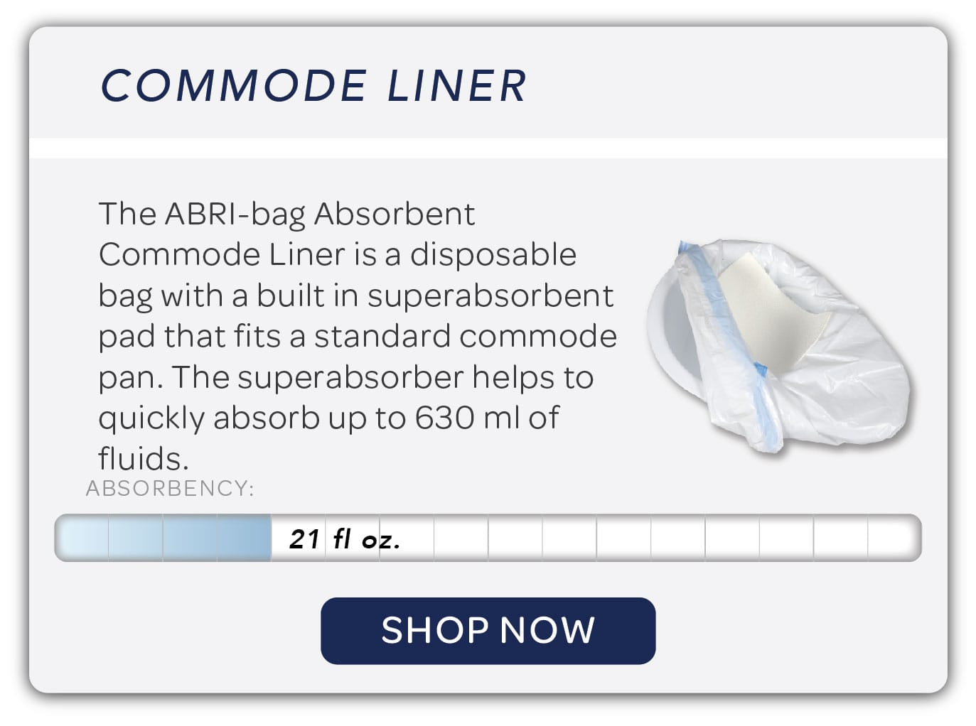 Commode Liner Image