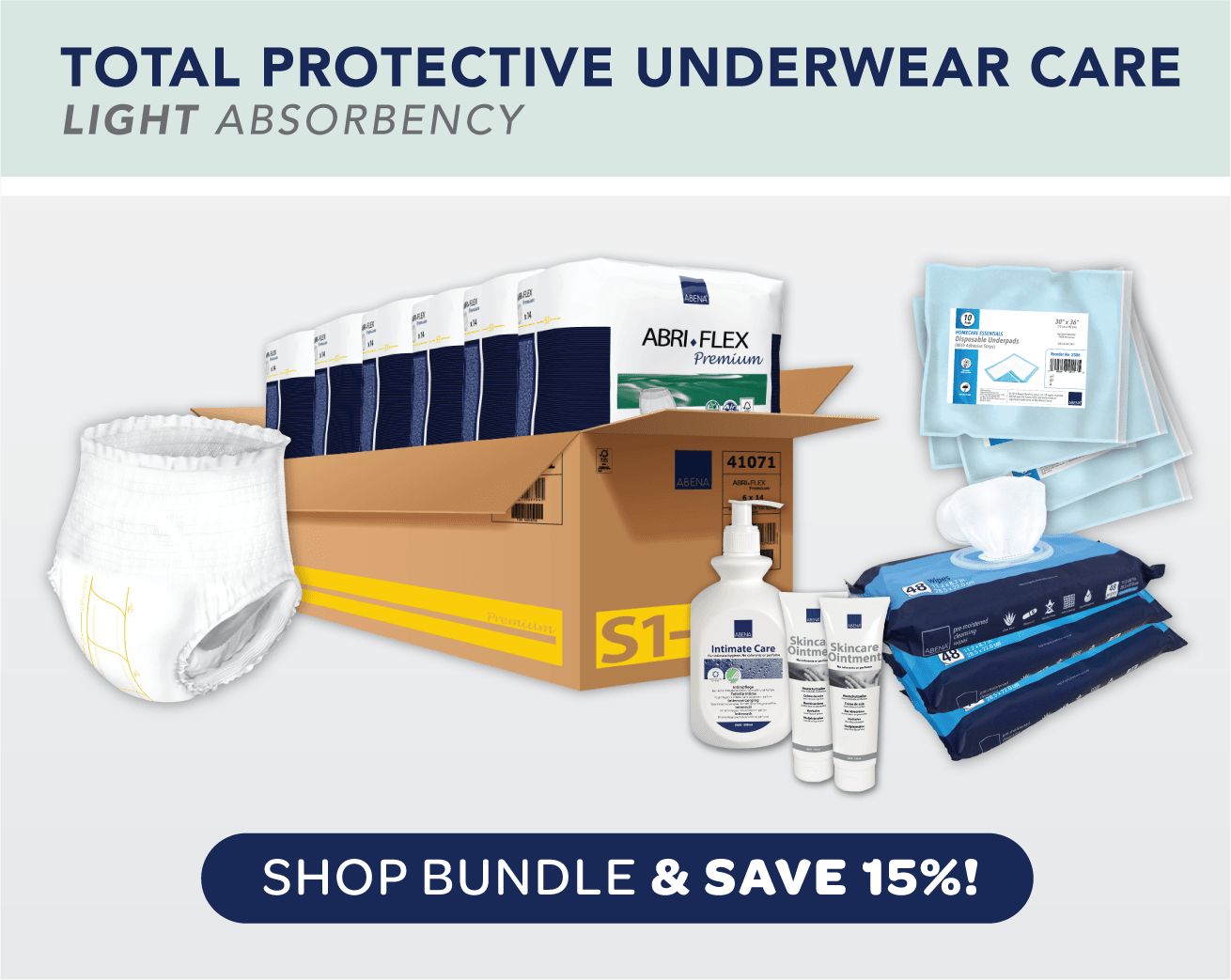 Total Protective Underwear Care