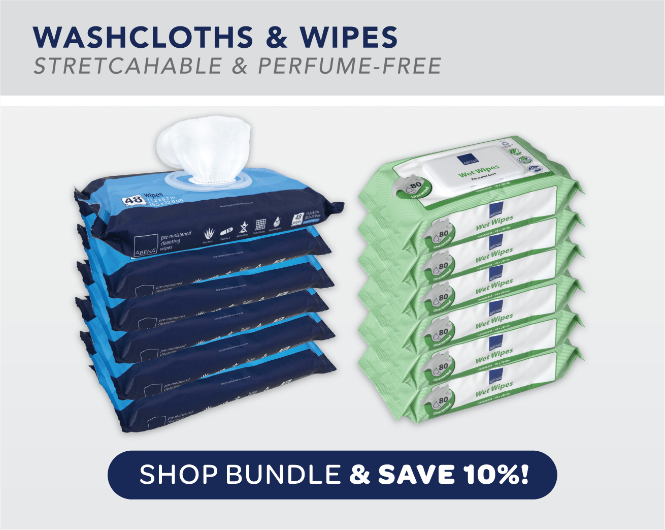 Washcloths and Wipes