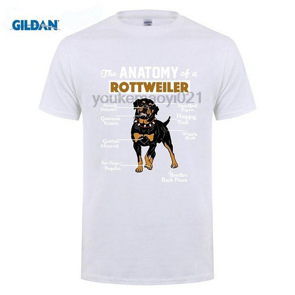 274878e9 The Anatomy Of A Rottweiler T-Shirt
