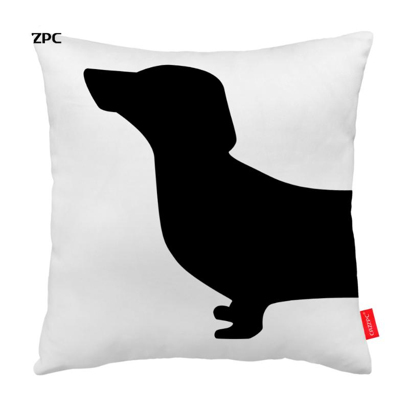 Twin Dachshund Pillowcases (2 pcs)