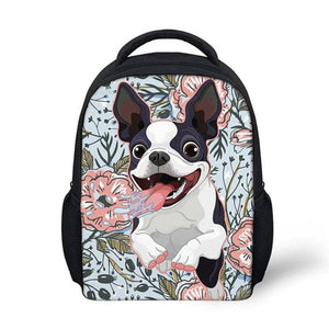 Boston Terrier Kids Packpack