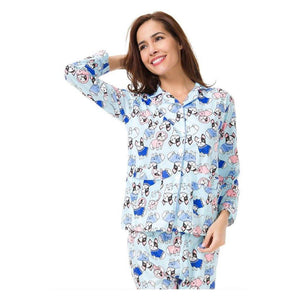 2018 Frenchie Pajamas Set