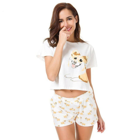 Corgi Pajamas Set