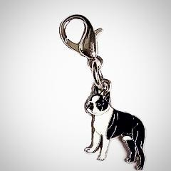 Boston Terrier 5-Pendants Set