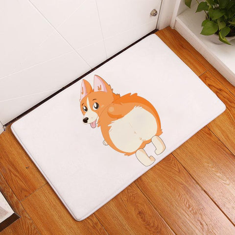 Exclusive Design! My Favorite Corgi Doormat