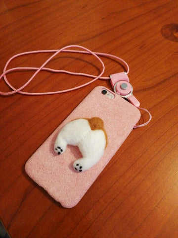 Corgi Butt iPhone Case
