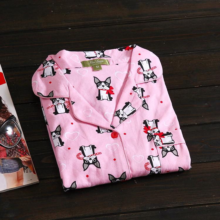 Boston Terrier Pajamas Set