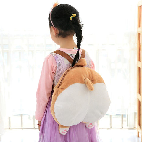 Kids Corgi Butt Backpack