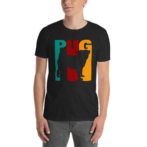 Short-Sleeve Man T-Shirt Pug Dad