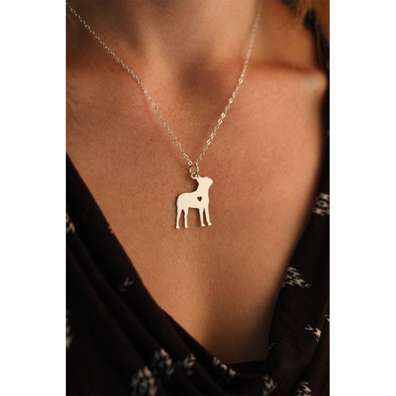 Adorable Boston Terrier Necklace