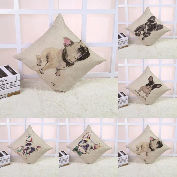 New Arrival! French Bulldog Cushion Cover