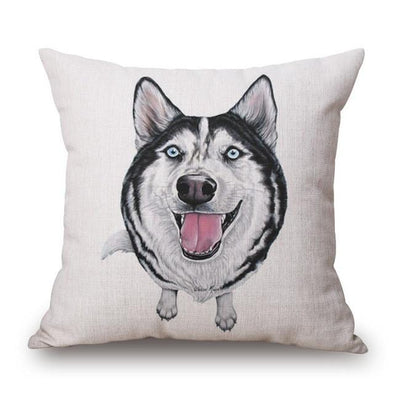 Husky Cushion Cover