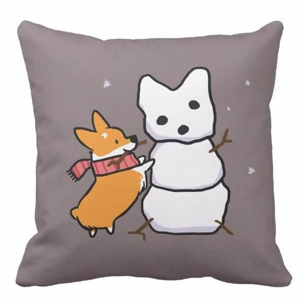 Corgi Life Cushion Cover