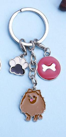 My Pomeranian Key Chain