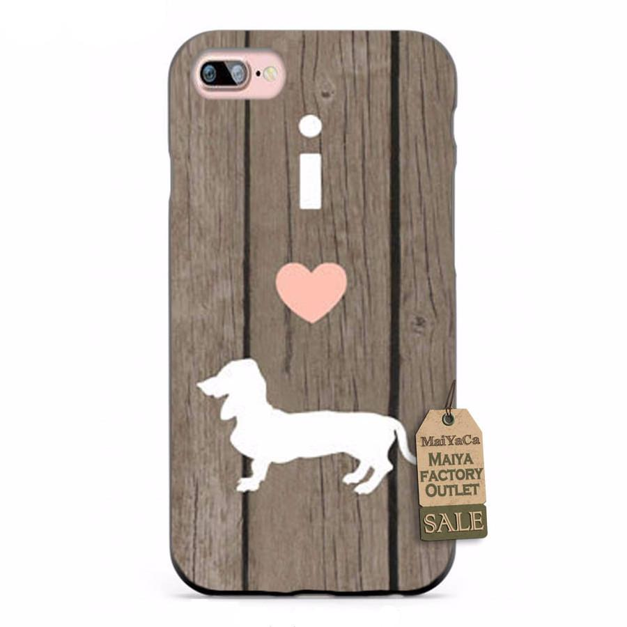 iLove Dachshunds iPhone Case