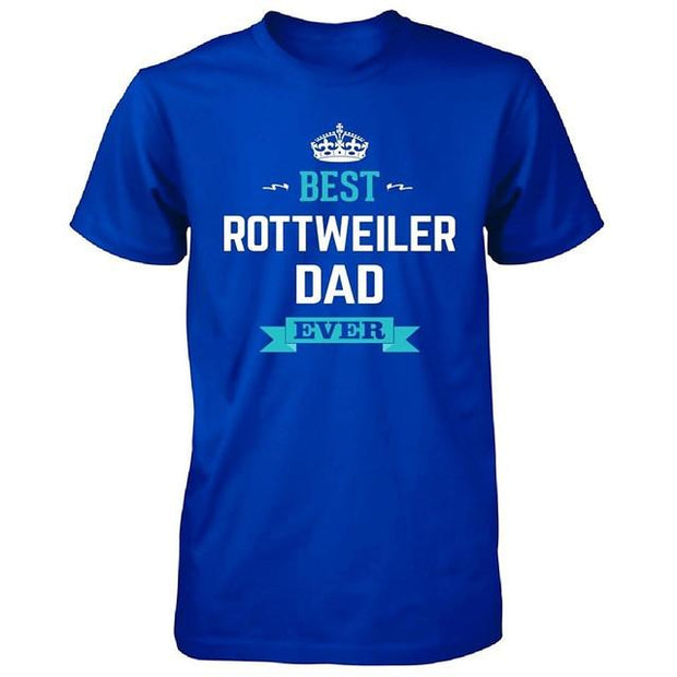 Best Rottweiler Dad Ever T-shirt