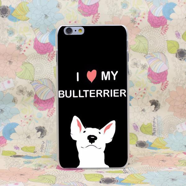 Artistic Bull Terrier Phone Case