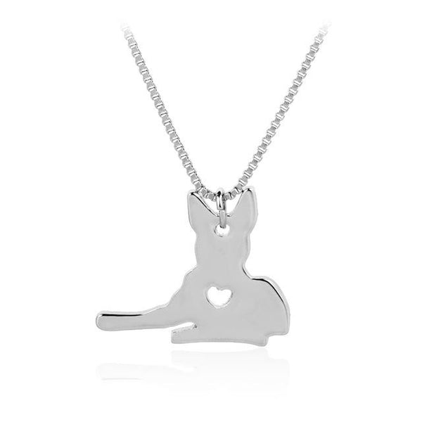 German Shepherd Lovers Necklace