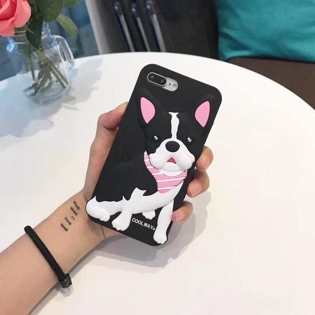 French Bulldog 3D iPhone Case