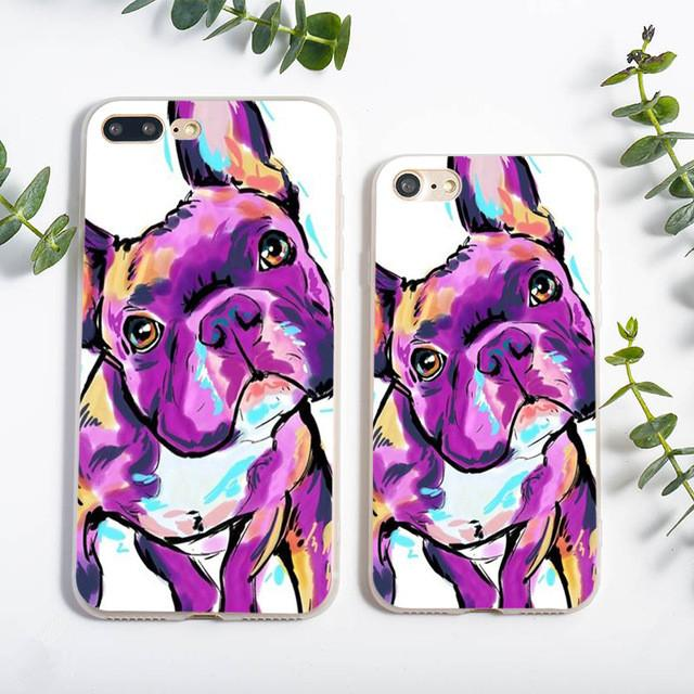 Frenchi Drawings Phone Case