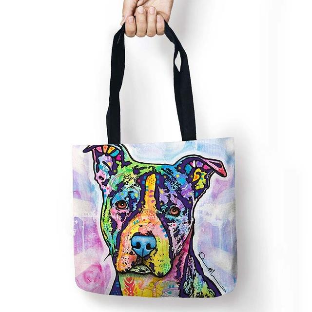 My Pitbull shopping bag