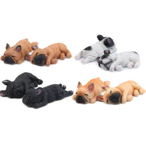Sleepy Frenchie Fridge Magnets