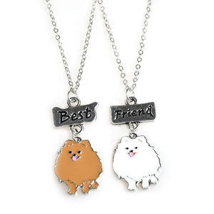 Lovely Pomeranian Necklaces