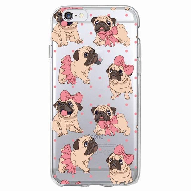 Adorable Pug iPhone Case - Various Sizes