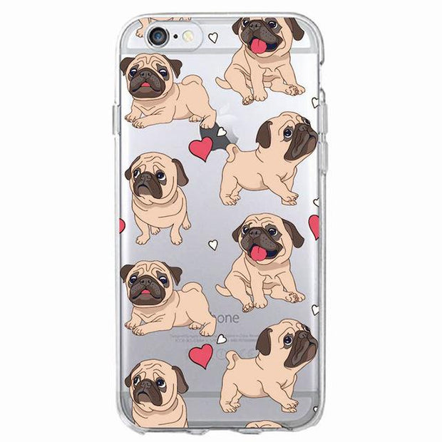 Adorable Pug Phone Case for Samsung