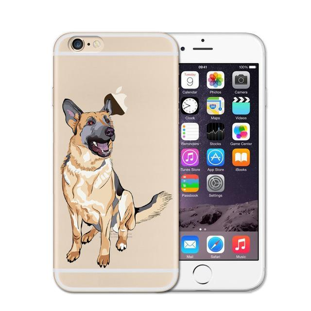 Cute German Shepherd Phone Case