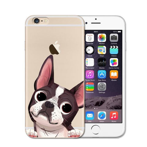 My Boston Terrier iPhone Case