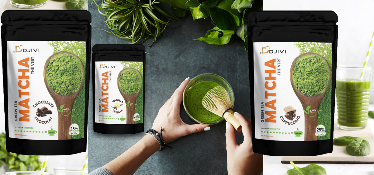 Enjoy the world class healthiest tea green matcha powder. 1# Flavor matcha tea store - DODJIVI.com