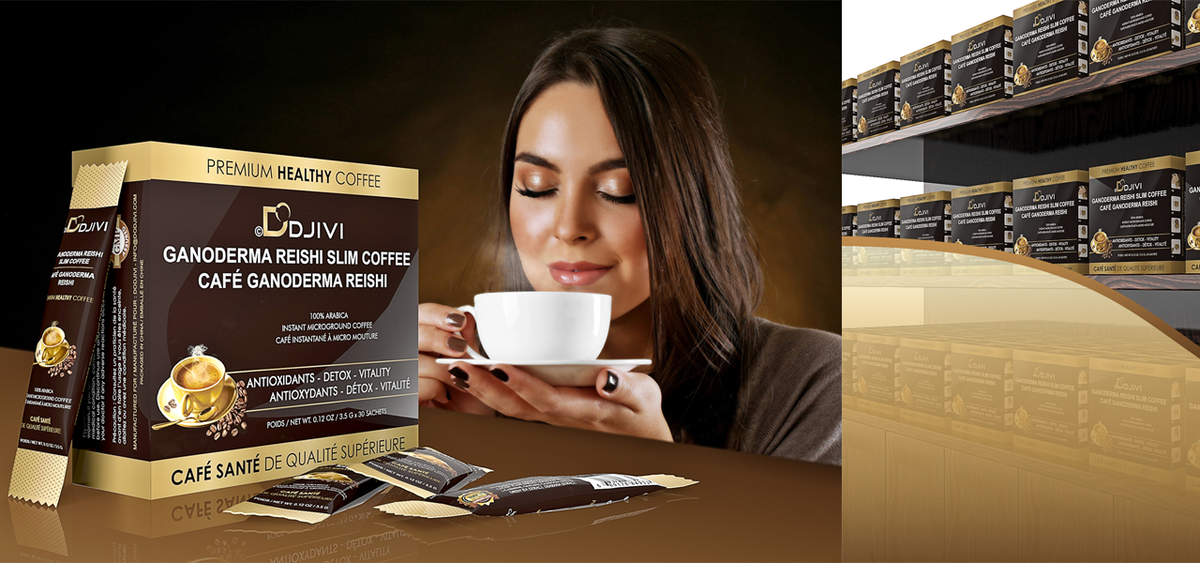 Dodjivi Ganoderma Reishi Coffee. 9 in 1 wellness Chinese medicinal coffee. Try one today!