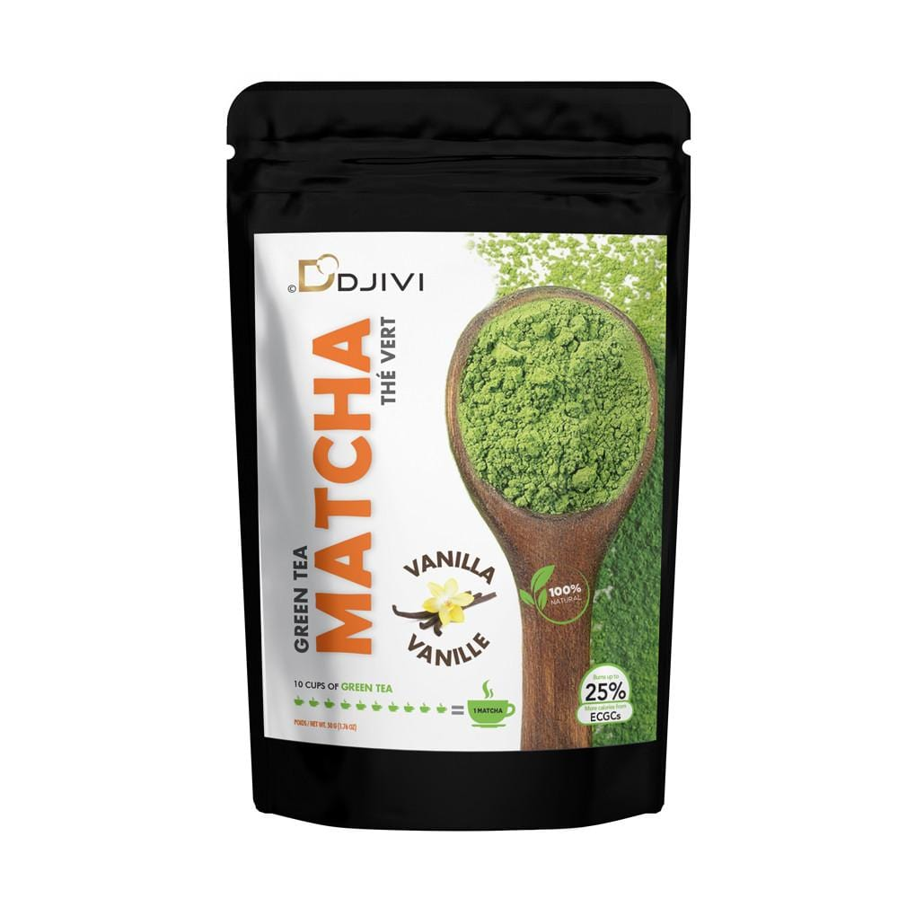 Dodjivi matcha green tea powder culinary. try our tasty vanilla flavor matcha