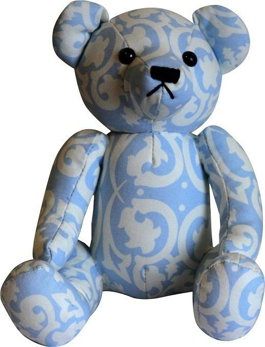 blue-damask-teddy-bear-1