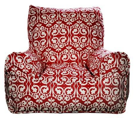 damask-red-beanchair-1