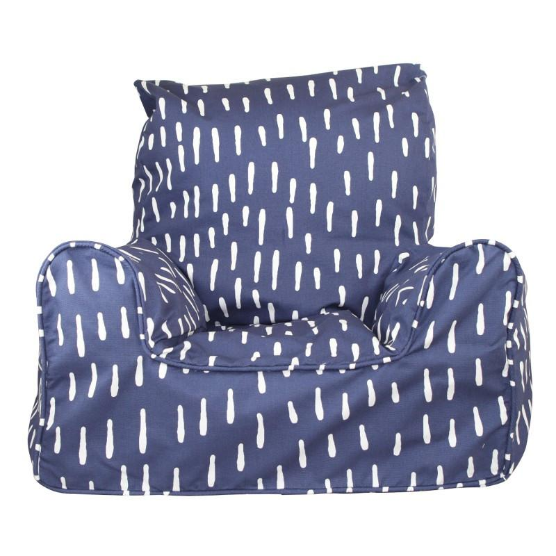 en kids beanbag blue ip canada bean chair bag comfykids walmart