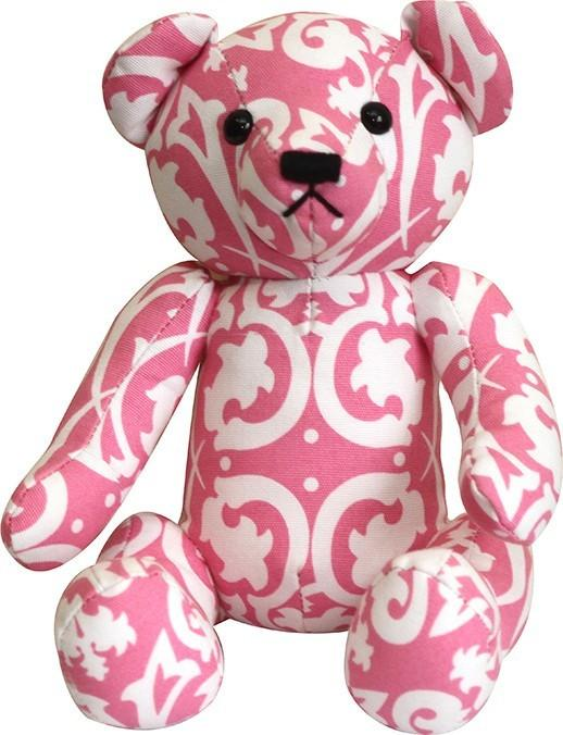 pink-damask-teddy-bear-1