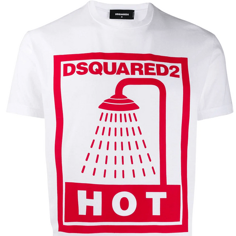 Dsquared2 Hot Shower T-Shirt S74GD0651S22427100
