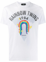 Dsquared2 Rainbow Twins T-Shirt S71GD0875S22844100