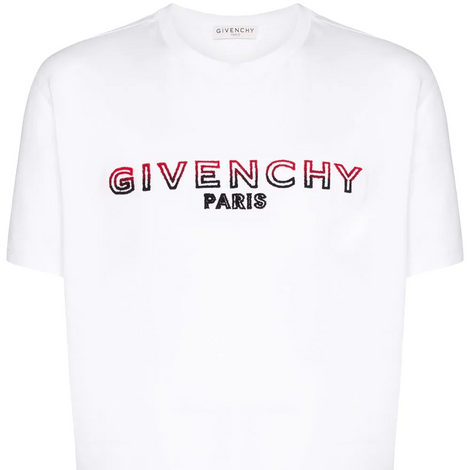 Givenchy Faded T-Shirt White