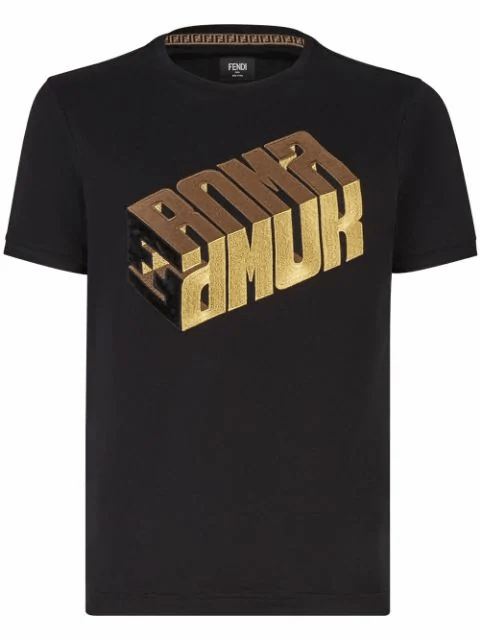 Fendi Roma Amor T-Shirt - Men - Apparel - Shirts - T Shirts - Fendi | Gethuda Fashion