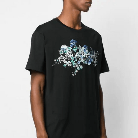 Givenchy Paris floral T-Shirt